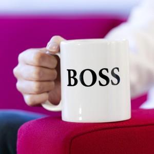 tasse de patron, boss